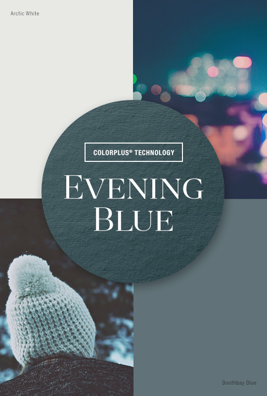 Live Colorfully: Evening Blue