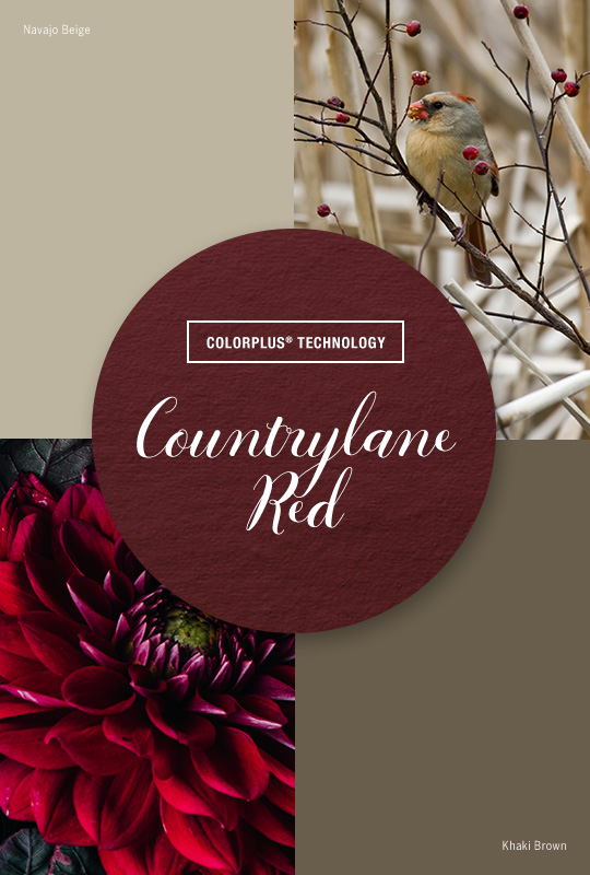 Live Colorfully: Countrylane Red