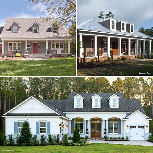 Popular Siding Colors By Home Style