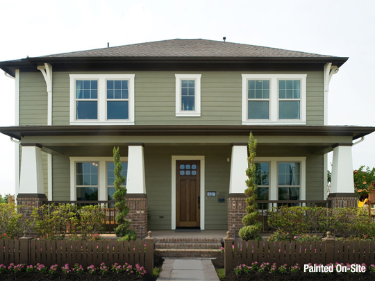 Siding and trim color combinations james hardie - White house green trim ...