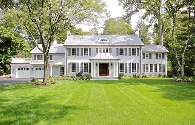 Colonial Style Homes James Hardie