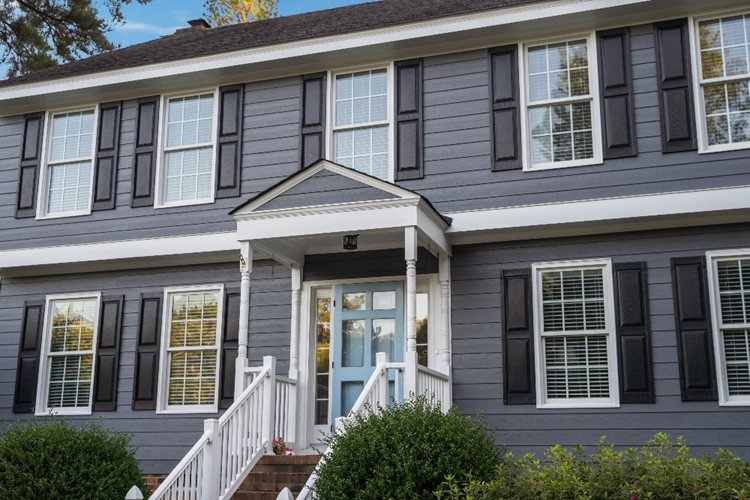 See This Colonial Home's Complete Exterior Transformation