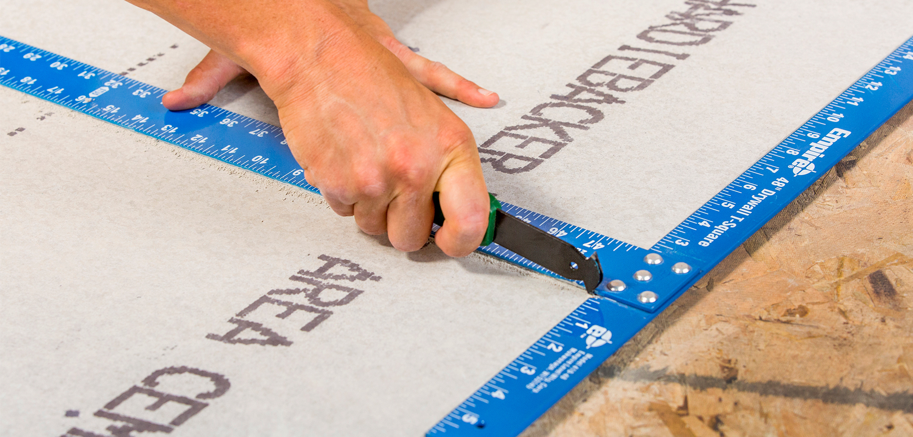 HardieBacker® Cement Board Cutting