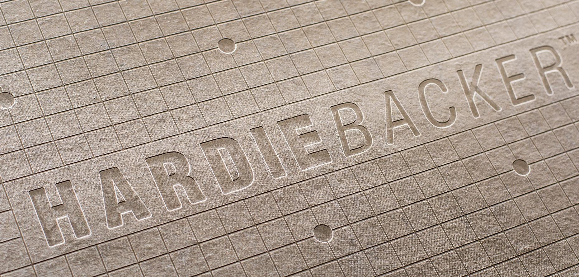 Tile Backer Board | HardieBacker Cement Board | James Hardie