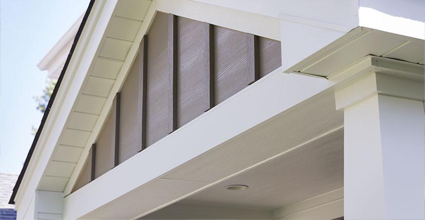Harpanel Vertical Siding In Cedarmill Texture