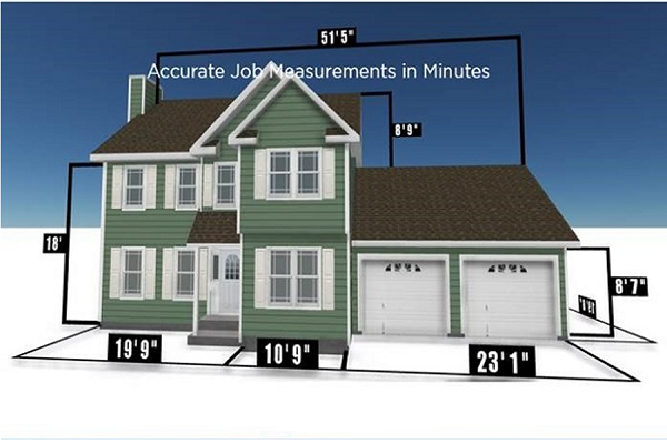 New James Hardie App Generates Accurate Home Measurements From Smartphone  Photos