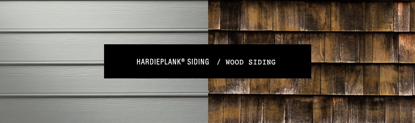 James Hardie® Fiber Cement Siding vs Wood Siding